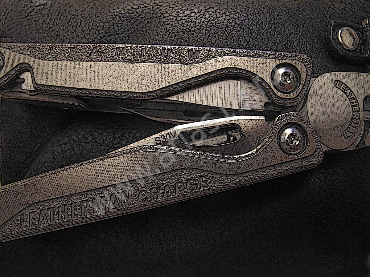 "Мультитул Leatherman ""Charge TTi"". Конкретно - ТИТАН!!!"
